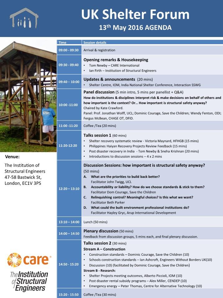 UKSF18 Agenda 1