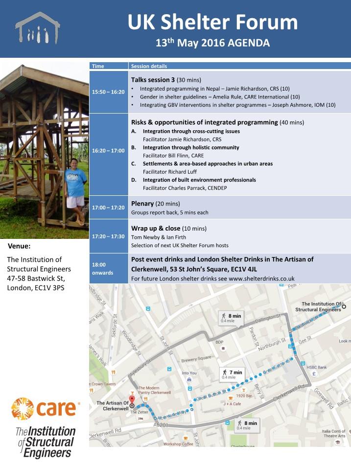 UKSF18 Agenda 2